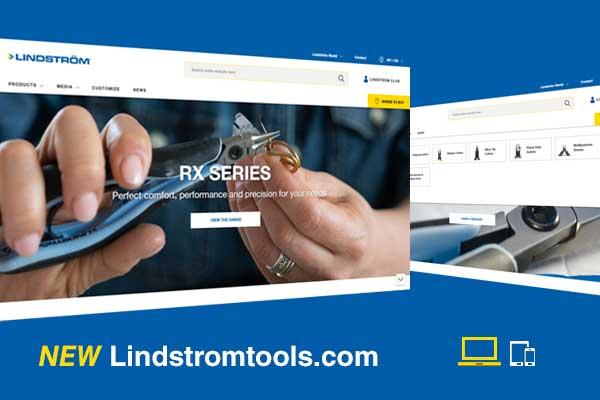 ¡La nueva página web de Lindstrom está en funcionamiento!